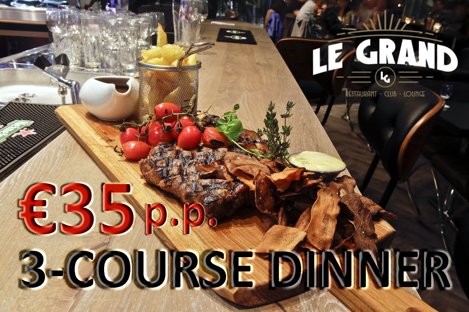 3-Course Dinner Le Grand